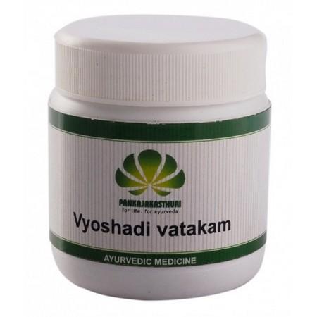 Pankajakasthuri Herbals Vyoshadi Vatakam