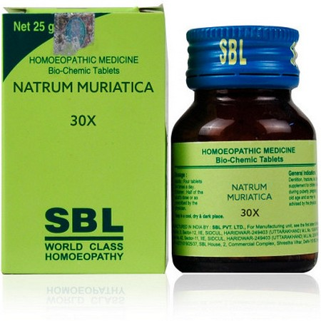 SBL Natrum Muriaticum 30X