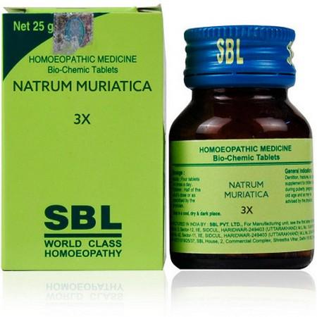 SBL Natrum Muriaticum 3X