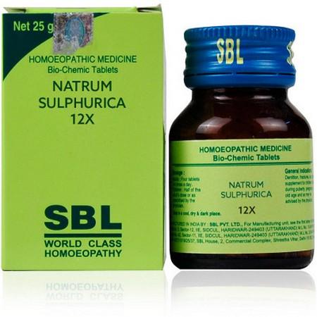 SBL Natrum Sulphuricum 12X