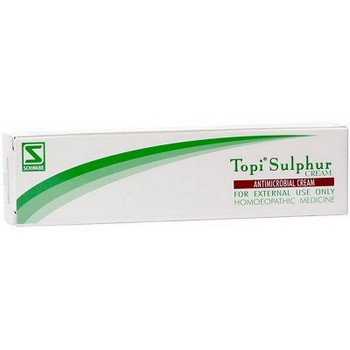 Schwabe Homeopathy Topi Sulphur Cream