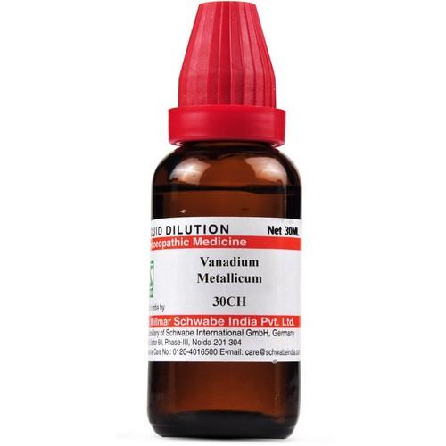 Schwabe Vanadium Metallicum 30 CH Dilutions