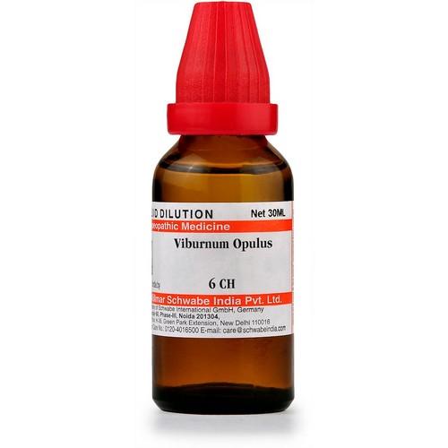 Schwabe Viburnum Opulus 6 CH Dilutions
