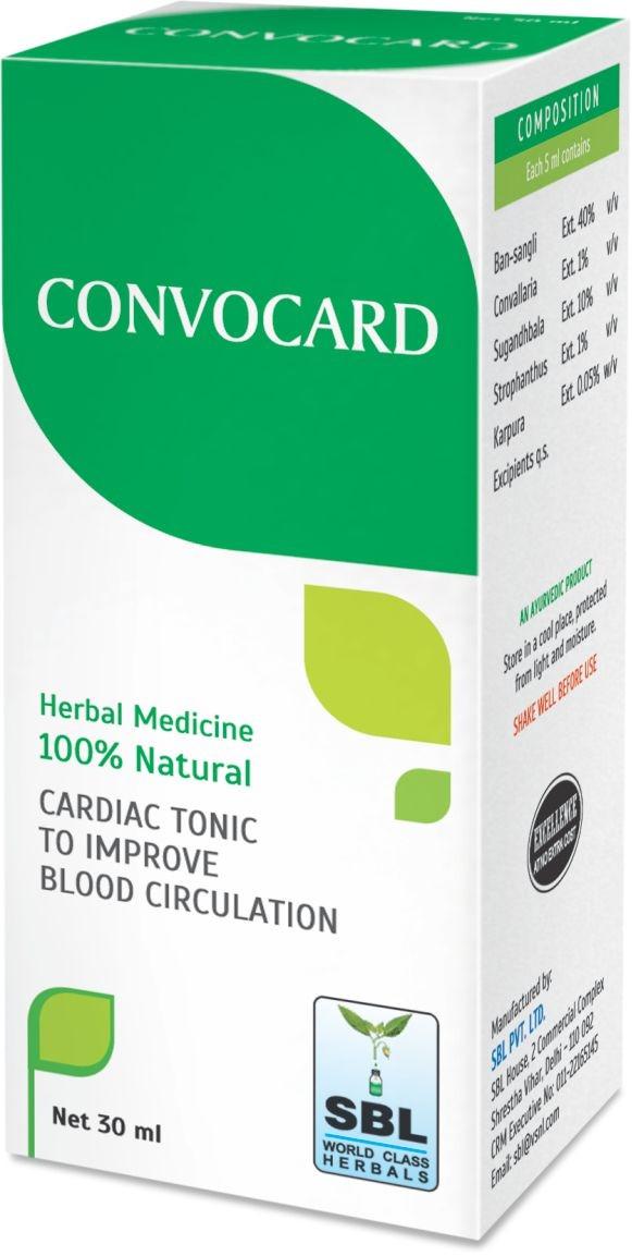 SBL Homeopathy Convocard Drops
