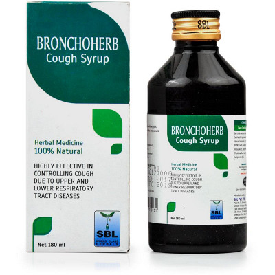 SBL Homeopathy Bronchoherb Cough Syrup